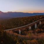 秋の北海道旅行 道央一周の道で見た三国峠の朝日と、みなとやのアベック丼